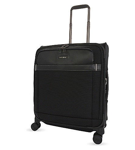 SAMSONITE Lite DLX spinner nylon suitcase 56cm (Black