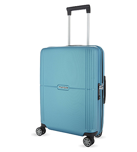 SAMSONITE Orfeo spinner cabin suitcase 55cm (Blue+lagoon