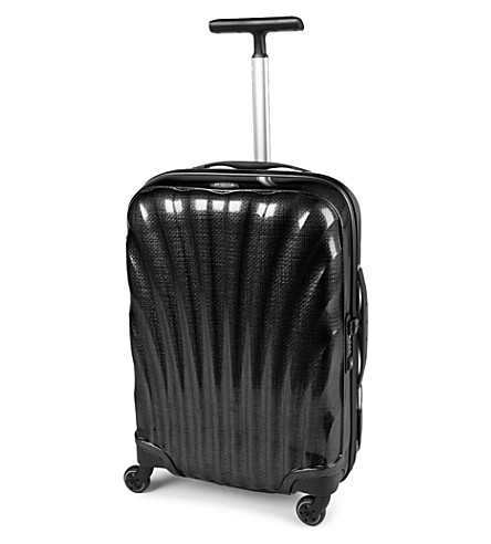 SAMSONITE Cosmolite four-wheel spinner suitcase 55cm (Black