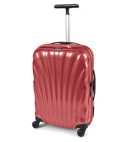 SAMSONITE Cosmolite four-wheel spinner suitcase 55cm (Red