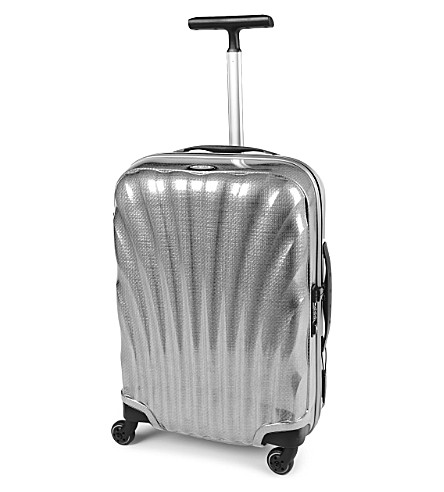 SAMSONITE Cosmolite four-wheel spinner suitcase 55cm (Silver