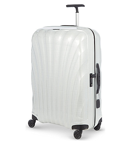SAMSONITE Cosmolite four-wheel spinner suitcase 75cm (White