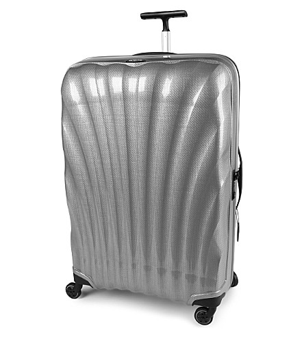 SAMSONITE Cosmolite four-wheel spinner suitcase 81cm (Silver