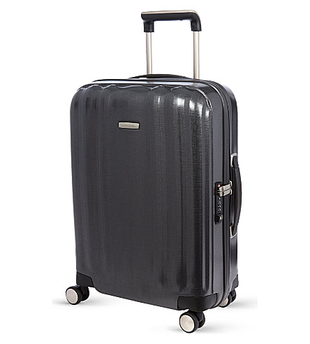 SAMSONITE Lite-Cube four-wheel spinner suitcase 55cm (Graphite