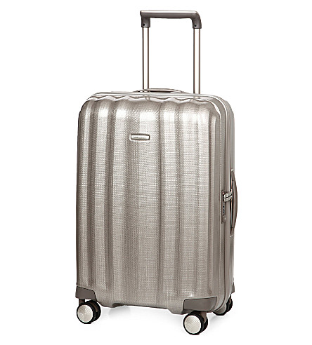 SAMSONITE Lite-Cube four-wheel suitcase 68cm (Champagne