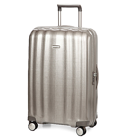 SAMSONITE Lite-Cube spinner four-wheel suitcase 76cm (Champagne