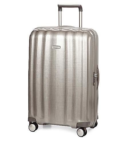 SAMSONITE Lite-Cube spinner four-wheel suitcase 76cm (Champagne