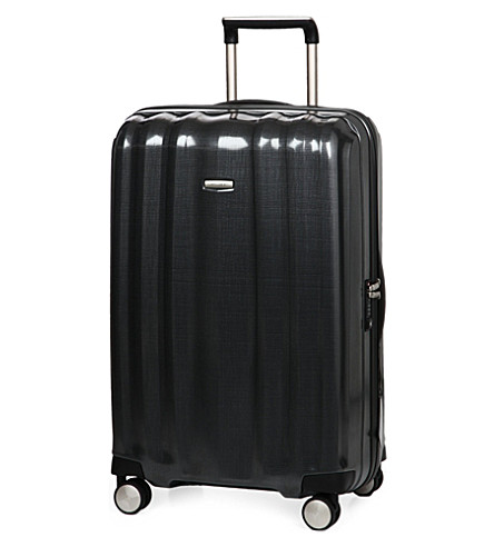 SAMSONITE Lite-Cube spinner four-wheel suitcase 76cm (Graphite