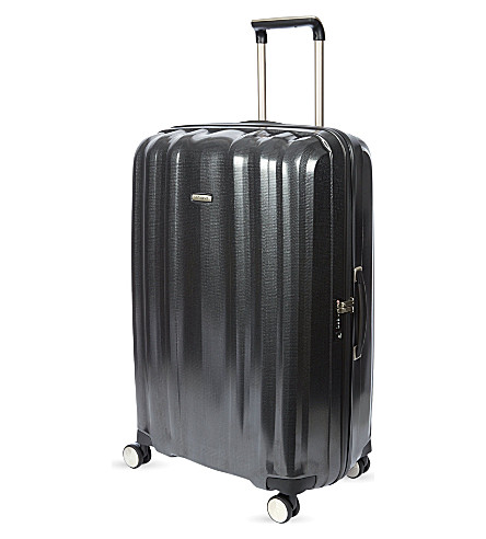 SAMSONITE Lite-Cube four-wheel spinner suitcase 82cm (Graphite