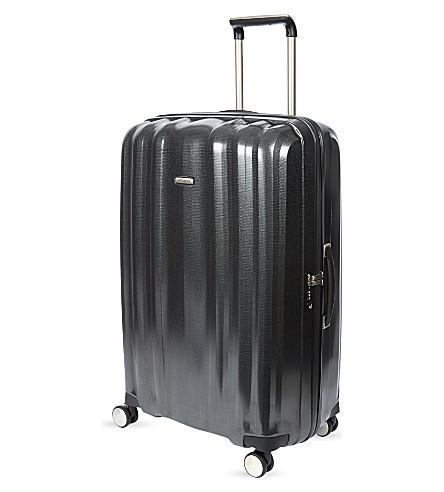 SAMSONITE Lite-Cube four-wheel spinner suitcase 82cm (Graphite