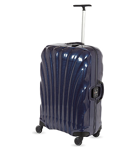 SAMSONITE Lite-Locked four-wheel suitcase 69cm (Navy+blue
