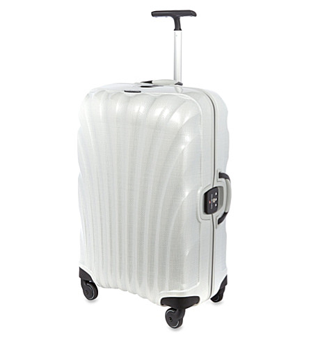 SAMSONITE Lite-Locked four-wheel suitcase (Off-white
