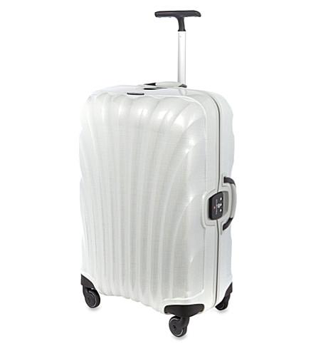 SAMSONITE Lite-Locked four-wheel suitcase (Off-white