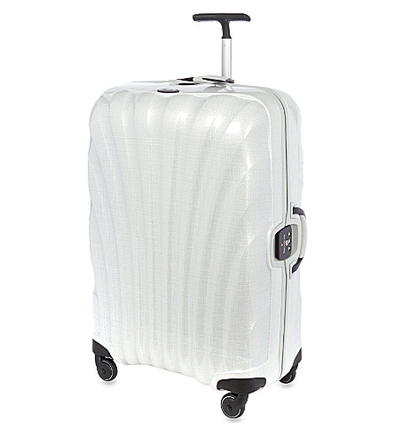 SAMSONITE Litelocked four wheeled spinner suitcase 69cm (Off-white