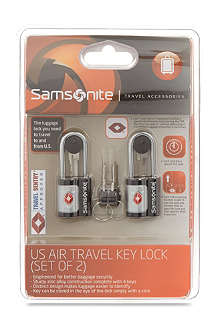 SAMSONITE US Air Travel key lock