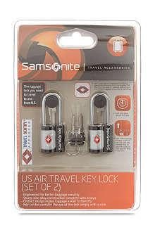 SAMSONITE US Air Travel key lock
