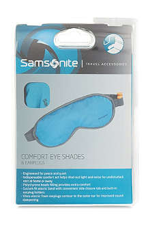 SAMSONITE Contour eye shades and ear plugs