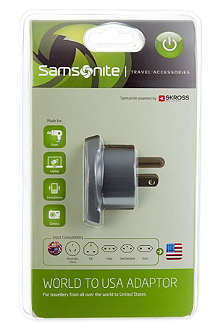 SAMSONITE World to USA adaptor