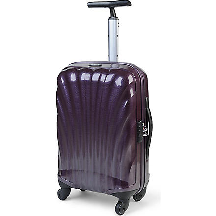SAMSONITE Cosmolite four-wheel suitcase 55cm (Violet