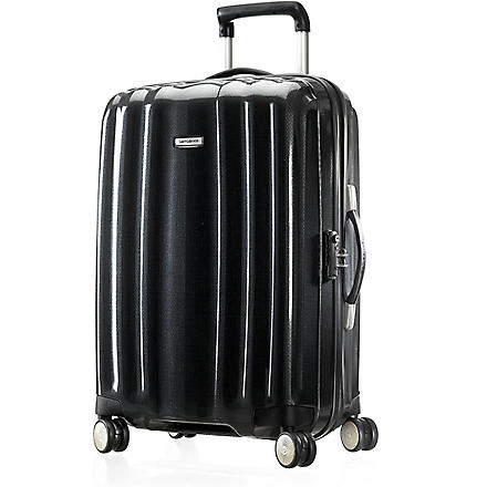 SAMSONITE Cubelite four-wheel suitcase 55cm (Graphite