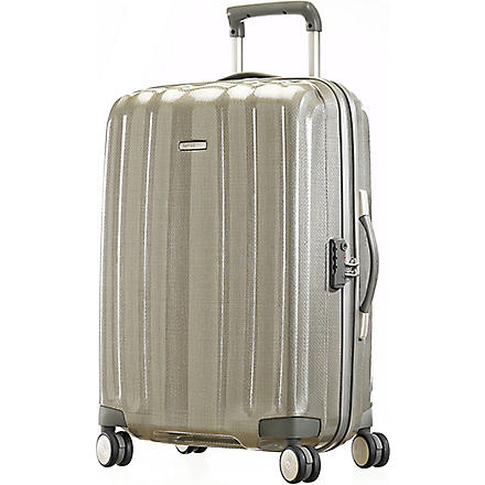 SAMSONITE Cubelite four-wheel suitcase 76cm (Champagne