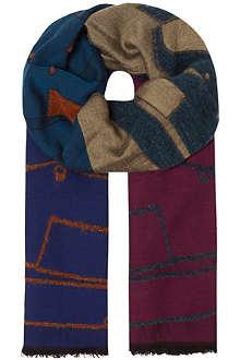 BOGLIOLI Quad jacquard scarf