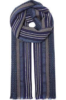 BOGLIOLI Woollen stripe scarf