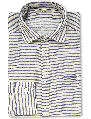 BOGLIOLI Club Cotlin slim-fit striped shirt