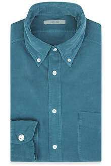 BOGLIOLI Corduroy slim-fit shirt