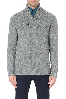 BOGLIOLI Flecked camel-hair jumper