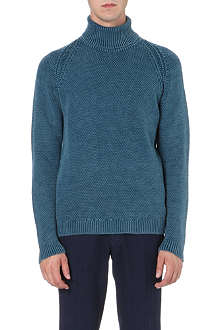 BOGLIOLI Roll-neck merino wool jumper
