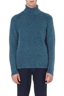 BOGLIOLI Roll-neck merino wool jumper