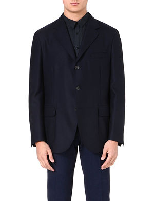 BOGLIOLI Single-breasted wool jacket