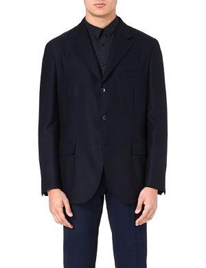 BOGLIOLI Single-breasted wool jacket