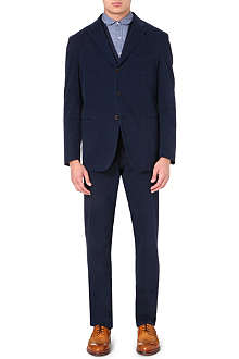 BOGLIOLI Single-breasted stretch-cotton suit
