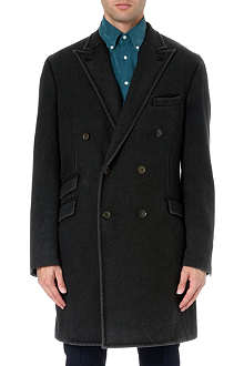 BOGLIOLI Double-breasted wool coat