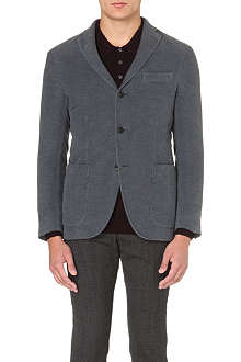 BOGLIOLI Dover yarn-dyed single-breasted blazer