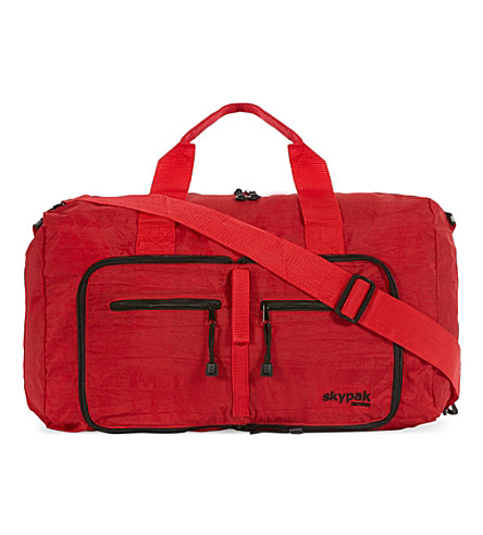SKYPAK On board folding bag (Red