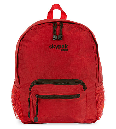 SKYPAK Folding backpack (Red