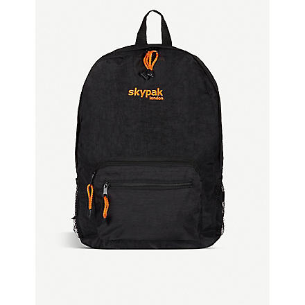 SKYPAK Folding rucksack (Black