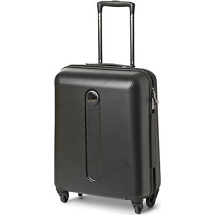 DELSEY Helium Slim four-wheel cabin suitcase 54cm (Black