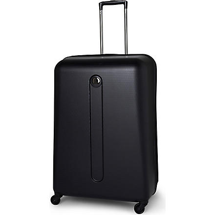 DELSEY Helium four-wheel suitcase 76cm (Black