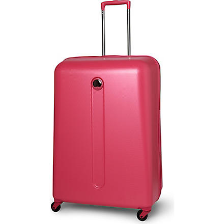 DELSEY Helium four-wheel suitcase 76cm (Pink