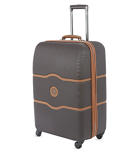 DELSEY Chatelet four-wheel suitcase 67cm (Chocolate
