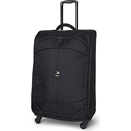 DELSEY U Lite four-wheel cabin suitcase 81cm (Black