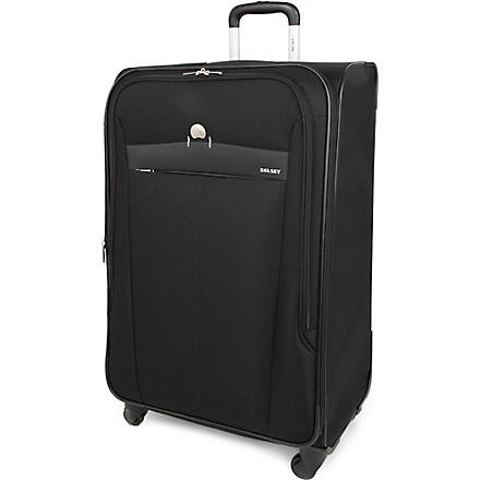 DELSEY Belleville four-wheel expandable suitcase 76cm (Black