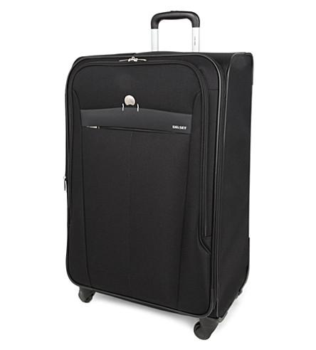 DELSEY Belleville four-wheel expandable suitcase 76cm (Black