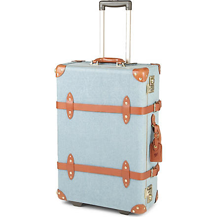STEAMLINE LUGGAGE The Diplomat denim two-wheel suitcase (Denim