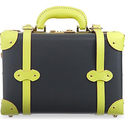 STEAMLINE LUGGAGE The Correspondent Vanity case (Grey/yellow