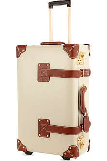 STEAMLINE LUGGAGE The Diplomat Stowaway two-wheel suitcase